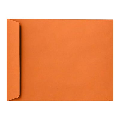 LUX 9 x 12 Open End Envelopes 50/Pack, Mandarin (EX4894-11-50)