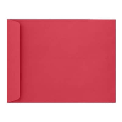 LUX 9 x 12 Open End Envelopes 50/Pack, Holiday Red (FE-7280-15-50)