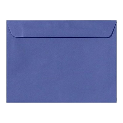 LUX 9 x 12 Booklet Envelopes 50/Pack, Boardwalk Blue (EX4899-23-50)