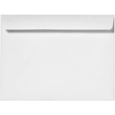 LUX 9 x 12 Booklet Envelopes 50/Pack, 24lb. Bright White (12310-50)