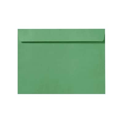LUX 9 x 12 Booklet Envelopes 50/Pack, Holiday Green (LUX-4899-17-50)