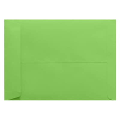LUX 9 x 12 Open End Envelopes 50/Pack, Limelight (LUX-4894-101-50)