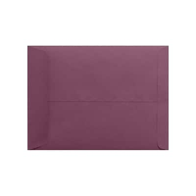 LUX 9 x 12 Open End Envelopes 50/Pack, Vintage Plum (LUX-4894-104-50)