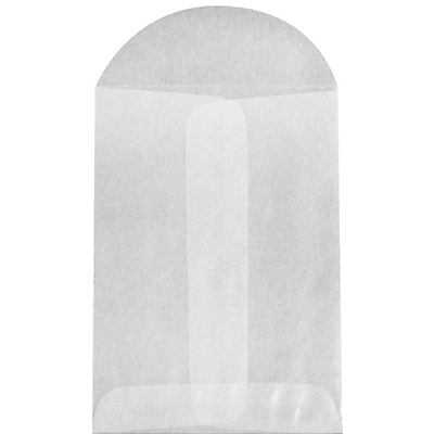 LUX #1 Coin Envelopes (2-1/4 x 3-1/2) 50/Pack, 30lb. Glassine (GLASS-09-50)