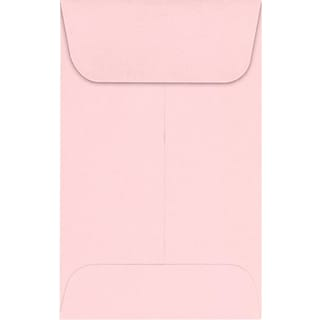 LUX #1 Coin Envelopes (2 1/4 x 3 1/2) 500/Pack, Candy Pink (LUX-1CO-14-500)