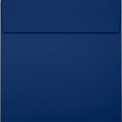 LUX 6 1/2 x 6 1/2 Square Envelopes 250/Pack, Navy (LUX8535103250)