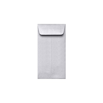 LUX #7 Coin Envelopes (3 1/2 x 6 1/2) 250/Pack, Silver Metallic (7CO-M06-250)