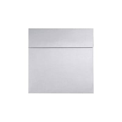 LUX 4 x 4 Square 50/Pack, Silver Metallic (8504-06-50)