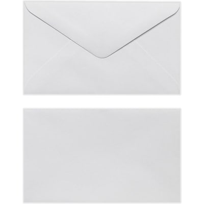 LUX #63 Mini Envelope (2 1/2 x 4 1/4) 250/Pack, White (EN6302-250)