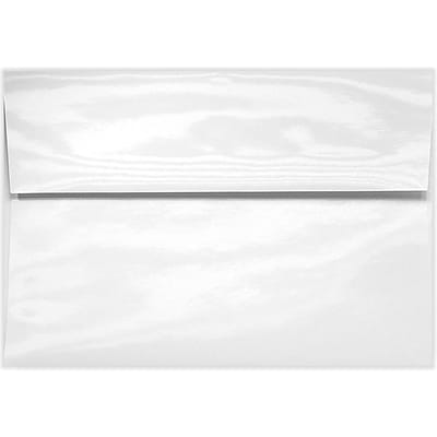 LUX A2 (4 3/8 x 5 3/4) - 6 pt. Glossy White 50/Pack, Glossy White (5870-GL-50)