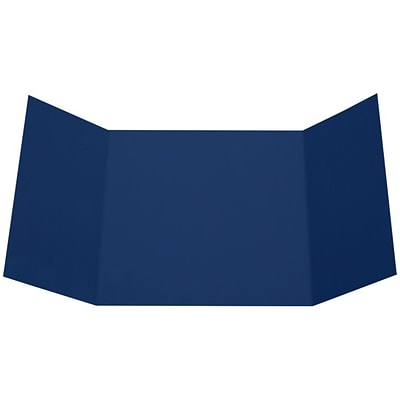 LUX 6 1/4 x 6 1/4 Gatefold Invitation 50/Pack, Navy (LUX614GF-103-50)