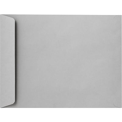LUX 12 1/2 x 18 1/2 Jumbo Envelopes 250/Pack, Gray Kraft (92532-250)