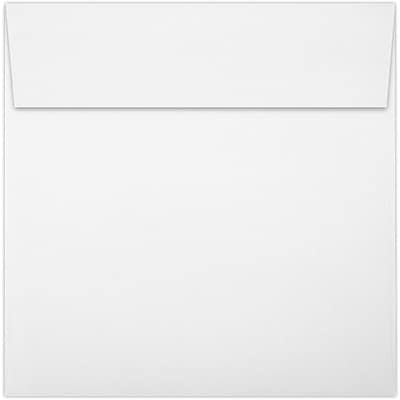 LUX 5 x 5 Square Envelopes 50/Pack, 80lb. Bright White (8505-80W-50)