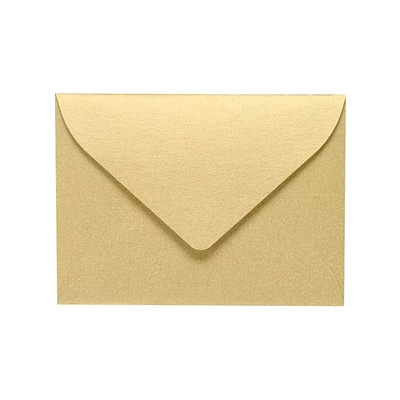 LUX #17 Mini Envelopes (2 11/16 x 3 11/16) 250/Pack, Blonde Metallic (MINSHB-250)
