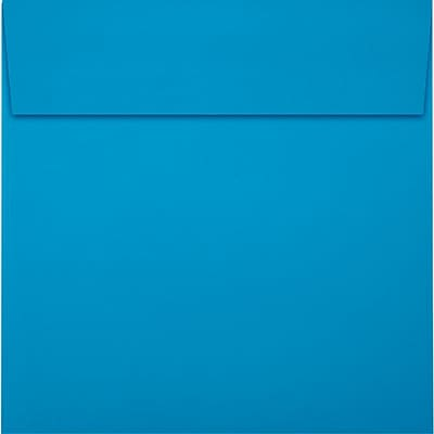 LUX 6 x 6 Square Envelopes 50/Pack, Pool (LUX-8525-102-50)