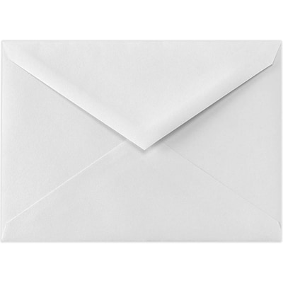 LUX 4 BAR Envelopes (3 5/8 x 5 1/8) 50/Pack, 70lb. Bright White (93839-50)