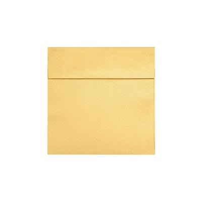 LUX 3 1/4 x 3 1/4 Square 50/Pack, Gold Metallic (8503-07-50)