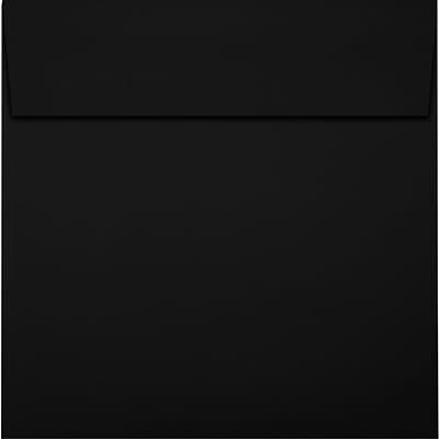 LUX 6 x 6 Square Envelopes 50/Pack, Midnight Black (F-8525-B-50)