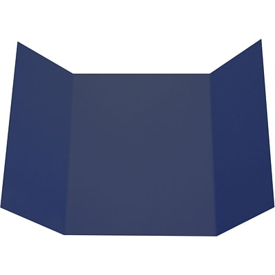 LUX A7 Gatefold Invitation (5 x 7) 50/Pack, Navy (LUXA7GF-103-50)