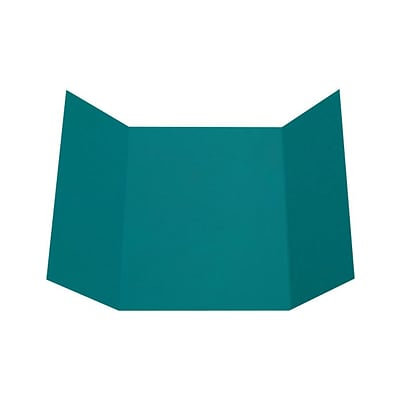 LUX A7 Gatefold Invitation (5 x 7) 10/Pack, Teal (LUXA7GF-25-10)