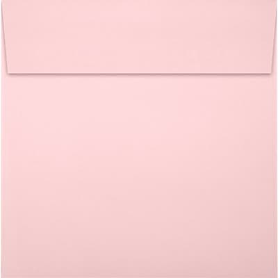 LUX 7 1/2 x 7 1/2 Square Envelopes 50/Pack, Candy Pink (EX8555-14-50)