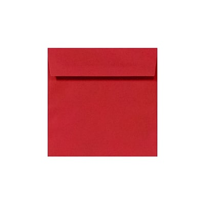 LUX 3 1/4 x 3 1/4 Square 50/Pack, Ruby Red (8503-18-50)