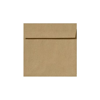 LUX 5 1/4 x 5 1/4 Square Envelopes 50/Pack, Grocery Bag (8510-GB-50)