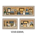 TrendyDecor4U 11 in. x 33 in. Bathroom Collection III Collection by Carrie Knoff, Printed Framed W