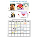 Hygloss Make Your Own Calendar Book, 11 x 8.5 (32901)