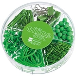 Miquel-Rius Apple Green Candy Colors Office Set, 245 pcs (111-11180)