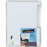 Darice Magnetic Dry Erase Board, 18 x 24 (2511-37)
