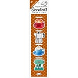 Re-marks Vanilla Latte Scented Magnetic Page Clip Bookmarks, 4/Pkg (S19007)