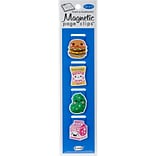 Re-marks Lunch Magnetic Page Clip Bookmarks, 4/Pkg (42200)