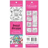 Re-marks Sweet Shoppe Coloring Bookmarks, 5/Pkg (6814-77000)