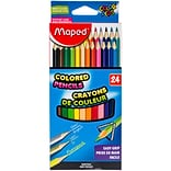 Maped Helix Usa Assorted ColorPeps Triangular Colored Pencils, 12/Pkg (832047ZV)