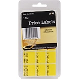 A & W Office Supplies Price Labels, .75 x .9375, 180/Pkg  (AW251-51)