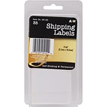 A & W Office Supplies Shipping Labels, 2 x 4, 35/Pkg  (AW251-52)