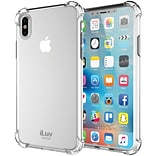 ILuv Gelato Case for iPhone X, Clear (AIXGELACL)