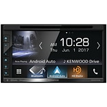 Kenwood 6.8 Double-DIN In-Dash DVD Receiver with Bluetooth, Apple CarPlay, Android Auto, HD Radio &