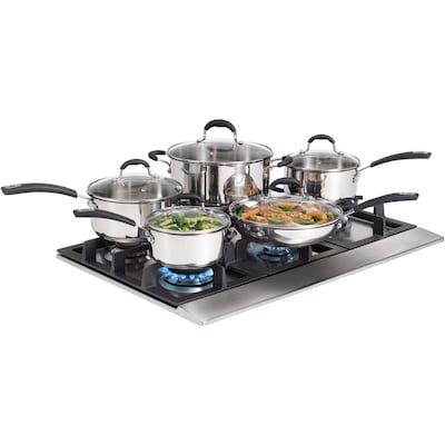 10 Piece Stainless Steel Cookware Set (030899 001 0000)
