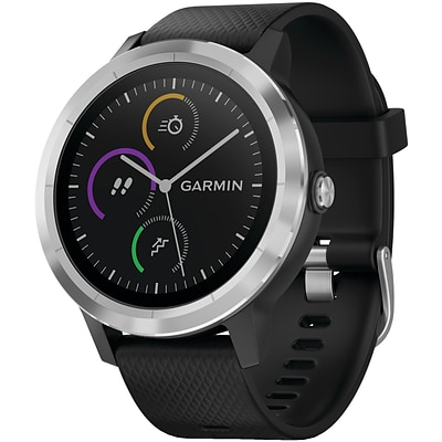 Garmin vívoactive 3, Black with Stainless Hardware (010-01769-01)