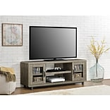 Ameriwood Home Eastlin TV Console for TVs up to 55, Weathered Oak(1821096COM)