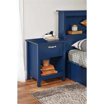 Ameriwood Home River Layne Nightstand, Blue (5894103COM)