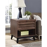 Ameriwood Home Vaughn Accent Table, Brown Walnut (5029096COM)