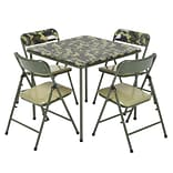 COSCO Kids 5pc Vinyl Set, Camo with Green Frame (37457CAM1E)