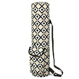 Zodaca Lightweight Durable Full-Zip Yoga Mat Gym Sports Bag with Pocket & Adjustable Shoulder Strap