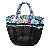 Zodaca Lightweight Mesh Shower Caddie Bag Quick Dry Bath Organizer Carry Tote Bag for Gym Camping -