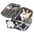 Zodaca Lightweight Makeup Travel Cosmetic Bag Case Multifunction Pouch Toiletry Zip Wash Organizer -