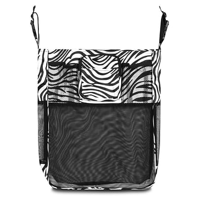 Zodaca Baby Cart Strollers Bag Buggy Pushchair Organizer Basket Storage Bag for Walk Shopping - Zebra