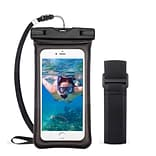 Insten Universal Underwater Waterproof Pouch Pack Bag Dry Case w/Lanyard/Armband - Black